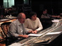 Score Mixer Dennis Sands and Composer Stephen Trask