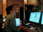 Larry Mah runs the ProTools rig