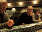 Orchestrator Brad Dechter, James Newton Howard, and score mixer Alan Meyerson