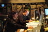 Music Editor Robbie Boyd and ProTools Engineer Erik Swanson