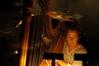 Katie Kirkpatrick plays harp on <i>American Gangster </i>
