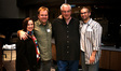 Production Designer Karen Blue, director Eric Blue, conductor Tim Simonec, and composer Kevin Riepl