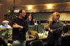 Director Stephen J. Anderson with composer Danny Elfman