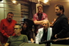 Music contractor Frank Capp, music editor Chuck Martin, score consultant Ryan Schifrin, editor Mark Helfrich, composer Lalo Schifrin and director Brett Ratner