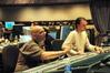 Orchestrator Ira Hirschen and scoring mixer Gustavo Borner
