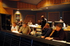 Conductor Don Harper, Orchestrater Dave Metzger, Director Antoine Fuqua, Composer Mark Mancina, Scoring Mixer Steve Kempster and ProTools Recordist Chuck Choi