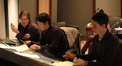 Orchestrator Christopher Thomas, composer Jay Kim and scoring mixer Zack Howard