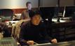 Composer Jay Kim and score coordinator Karim Elmahmoudi (rear)