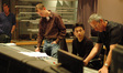 Robert Litton, Wataru Hokoyama and Paul Wertheimer discuss a cue