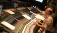 Scoring mixer Armin Steiner recording the Hollywood Studio Symphony