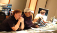 Music mixer Mark Mattson, recording engineer Bobby Fernandez and stage recordist Greg Dennen