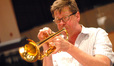 Wayne Bergeron plays trumpet
