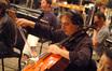 Andrew Shulman plays a cello solo