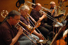trombonists Bill Reichenbach, Charlie Loper, Phil Teele, and tubist Jim Self