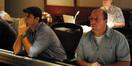 Director Amin Matalqa and scoring mixer Damon Tedesco