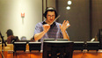 Austin Wintory conducts an emotional cue