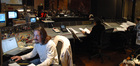 Recording the score to <i>David and Fatima</i> at the Warner Brothers Eastwood Scoring Stage