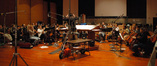 Michael J. Lloyd conducts his score to <i>David and Fatima</i> with the Hollywood Symphony Orchestra at Warner Brothers Eastwood Scoring Stage