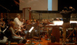 Concertmaster Bruce Dukov performs an expressive violin solo with the The Hollywood Studio Symphony Orchestra as Michael J. Lloyd conducts his score