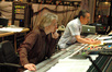 Composer Paul Haslinger and scoring mixer Joel Iwataki