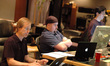 Music editor Jay Richardson, pre-record playback Chris Newlin and ProTools recordist Larry Mah