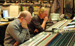 Scoring mixer Armin Steiner and composer Mark Mancina