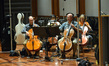 The cello section