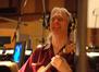 Guitarist George Doering laughs at a joke