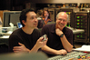 Composer Jim Dooley and scoring mixer Dennis Sands