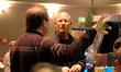 Contractor Peter Rotter and Disney exec Brett Swain
