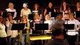 The female choir, led by Bobbi Page