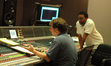 Scoring mixer Frank Wolf and director Spike Lee
