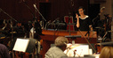 Jeanine Tesori talks to the orchestra