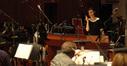 Jeanine Tesori talks to the orchestra