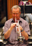 Jon Lewis plays trumpet