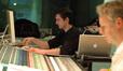 Stage recordist Lewis Jones and scoring mixer Peter Cobbin