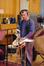 Percussionist Paul Clarvis