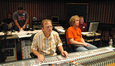 Composer Christopher Lennertz, scoring mixer Jeff Vaughn, and stage engineer Charlie Pakaari