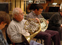 French Horns play on <i>Semi-Pro</i>