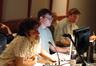 Scoring assistant Matt Lewkowicz, ProTools recordist Ryan Robinson and music editor Chris McGeary