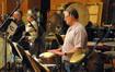 Alan Estes plays bongos
