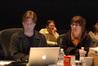 Music editor Jeff Carson, orchestrator Kevin Kaska and score production supervisor Melanie Mullens Hoyson