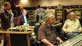 Music editor Jim schultz, ProTools operator David Channing, orchestrator Bruce Fowler and score recordist Armin Steiner