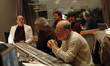 Orchestrator Conrad Pope, producer Gary Ross and scoring mixer Armin Steiner