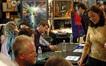 John Debney greets fans
