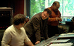 Scoring mixer Frank Wolf, composer Bruno Coon and orchestrator Jonathan Sacks