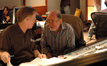 Orchestrator David Slonacker and scoring mixer Armin Steiner