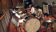Brian Kilgore, Mike Englander, and Chad Wackerman on percussion