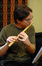 Chris Bleth plays the bansuri