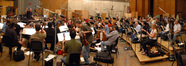 The Hollywood Studio Symphony performs on <i>A Christmas Carol</i>